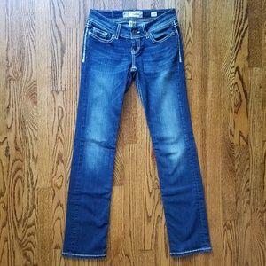 Buckle BKE Sabrina Straight Leg Jeans Size 25 R